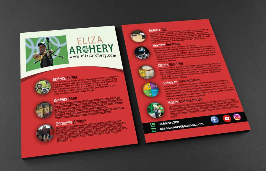 Entry #4 by SAFaahim for Design a Leaflet   Freelancer