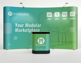 #5 for Design Trade Show Booth Backdrop - ModuGo by adarshdk
