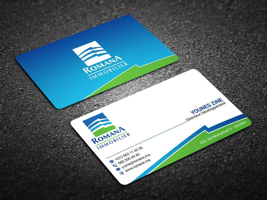 Entry #165 by rtaraq for design 2 sided business card with existing ...