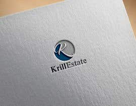 "#379 for Need a very professional logo for KrillEstate KrillEstate is a residential real estate company.  Please make sure it includes both a KrillEstate logo and a Icon using just the ""K"" that can be used for printing or embroidering on shirts. Unique by KUZIman"