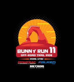 Image of                             Shirt Design for Bunny Run 11 Of...