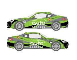 Nro 5 kilpailuun Racing car graphic design käyttäjältä TheFaisal