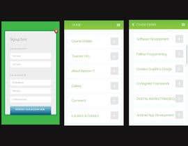Nro 2 kilpailuun Design mobile app pages käyttäjältä kawsarsarwar7171