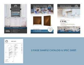 #20 for Help me with Marketing/cabinet company quick spec sheet by daniel967