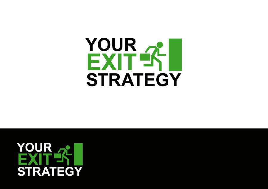 #9 for Logo Design for Your Exit Strategy by benpics
