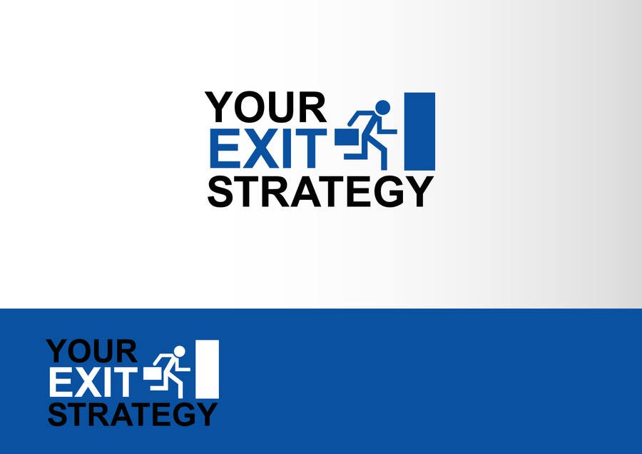 #76 for Logo Design for Your Exit Strategy by benpics