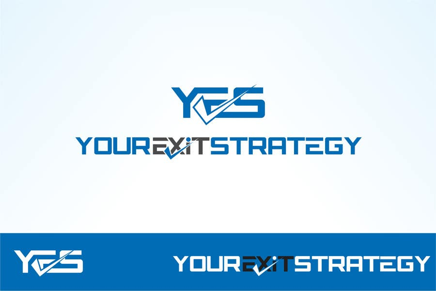 #64 for Logo Design for Your Exit Strategy by oxygenwebtech