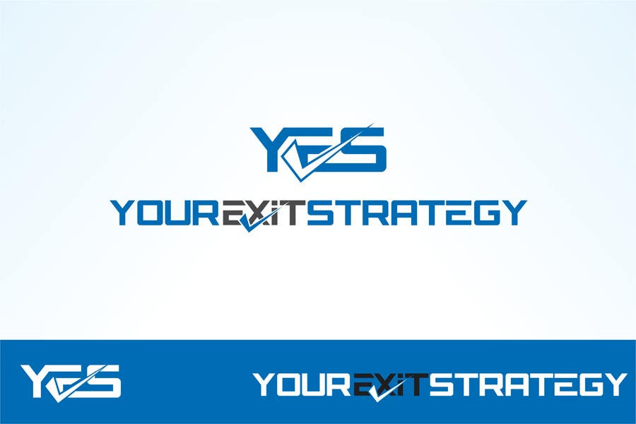 #60 for Logo Design for Your Exit Strategy by oxygenwebtech