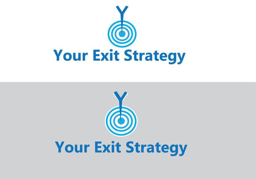 Proposition n°                                        82                                      du concours                                         Logo Design for Your Exit Strategy