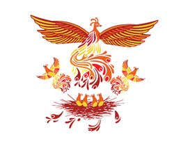 #7 for Phoenix Color Tattoo Designed by gb25