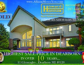 nº 102 pour Real Estate Agent Postcard par kaloqn81