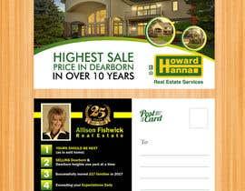 nº 85 pour Real Estate Agent Postcard par BlueTranslate
