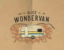 """#136 cho Simple vintage caravan logo - """"Alice Wondervan"""" bởi gabriellejeffery"""