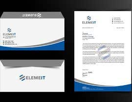 #17 for Elemeit letterhead & envelop by safiqul2006
