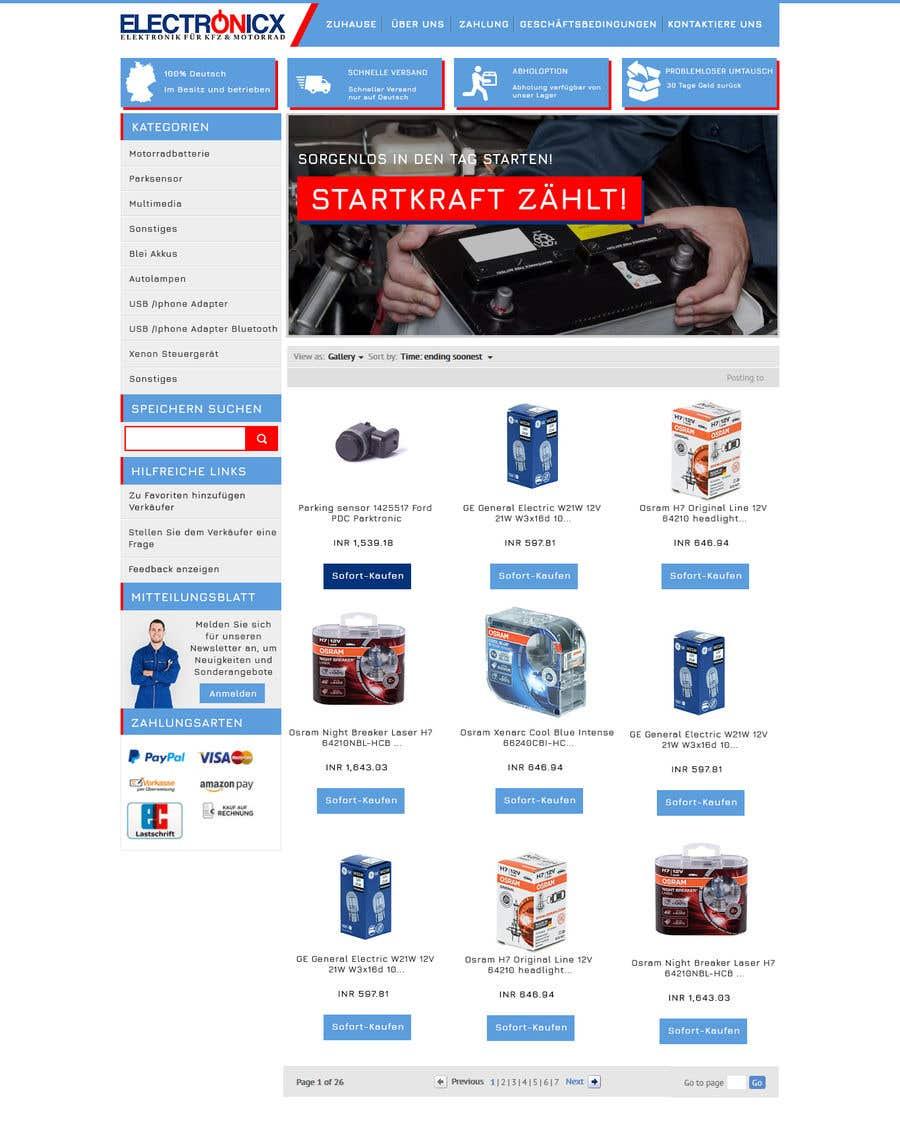Contest Entry #11 for Template erstellen für Ebay JTL Easy Auction