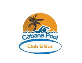 "#83 for Creative Abstract Logo for ""Cabana Pool Club & Bar"" by msmoshiur9"