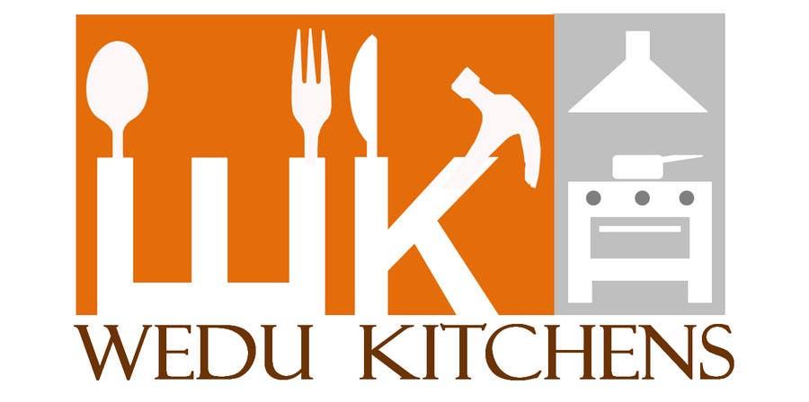 Kilpailutyö #88 kilpailussa Logo Design for Wedu Kitchens