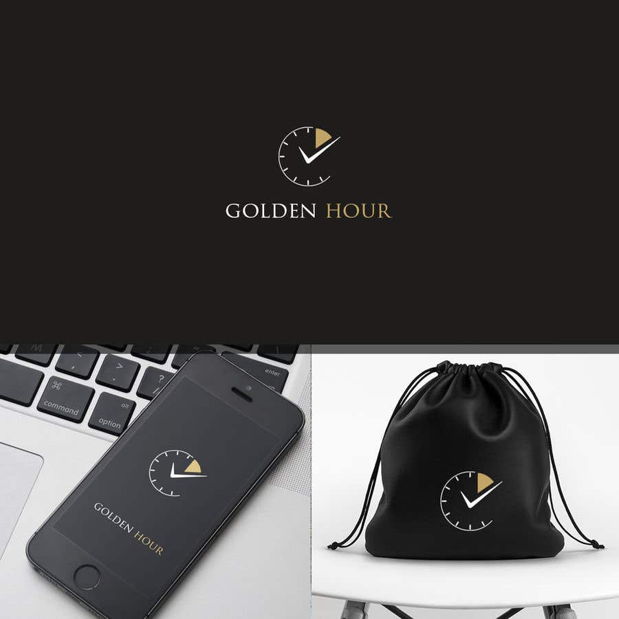Contest Entry #43 for Golden hour (logo & app icon)