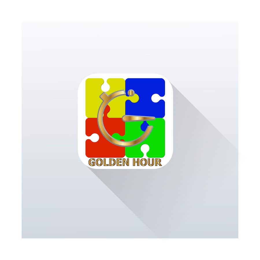 Entry #68 by OscarBox for Golden hour (logo & app icon