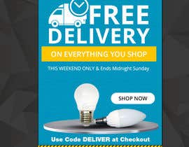 #36 for Design 3 Banners - Free Delivery af khaledmohamed15r