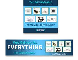 #20 for Design 3 Banners - Free Delivery af ArifShahriar450