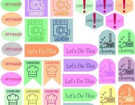 Nro 13 kilpailuun Design Stickers for Planner/Organizer käyttäjältä djingga17