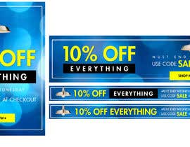 #81 for Design 3 Banners - 10% OFF Everything by Ashleyperez