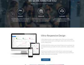 #7 for Analytics Leads generation website/showcase by SolzarDesign