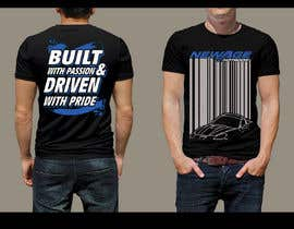 #148 for Best well designed performance shop business T-shirt! by feramahateasril