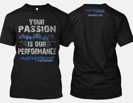 #112 for Best well designed performance shop business T-shirt! by nbclicks