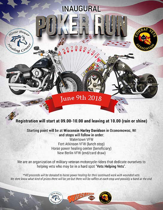 Contest Entry #14 for Inuagural poker run flyer