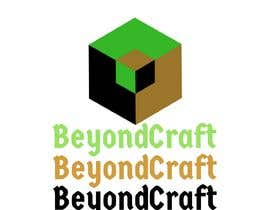 #23 for We are starting a minecraft community called BeyondCraft. Curious to see two style one similar to the Minecraft logo how it's more cartoony/3D/colorful and the other being more serious/simple/futuristic/smart design. by janainabarroso