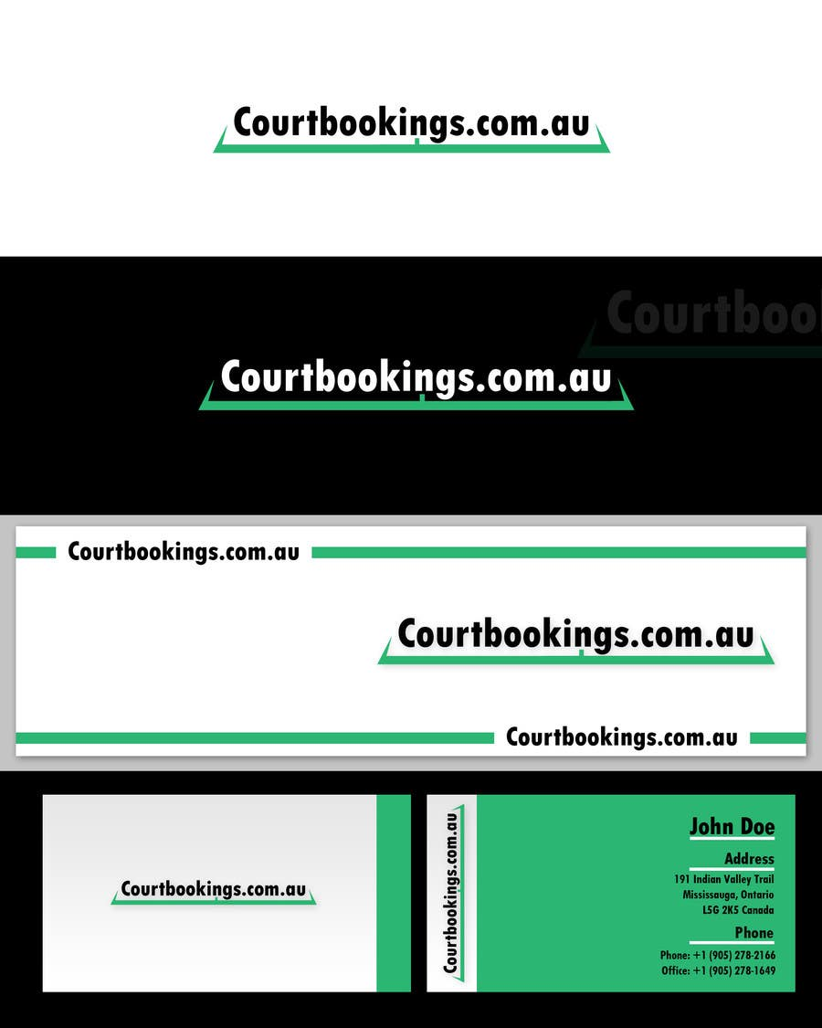 Inscrição nº 232 do Concurso para Corporate Identity Design for Courtbookings.com.au