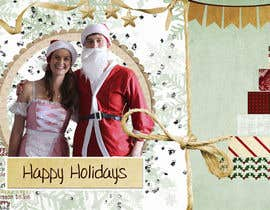 #22 para Family Christmas Card - Have fun with it! por annagerasimova09