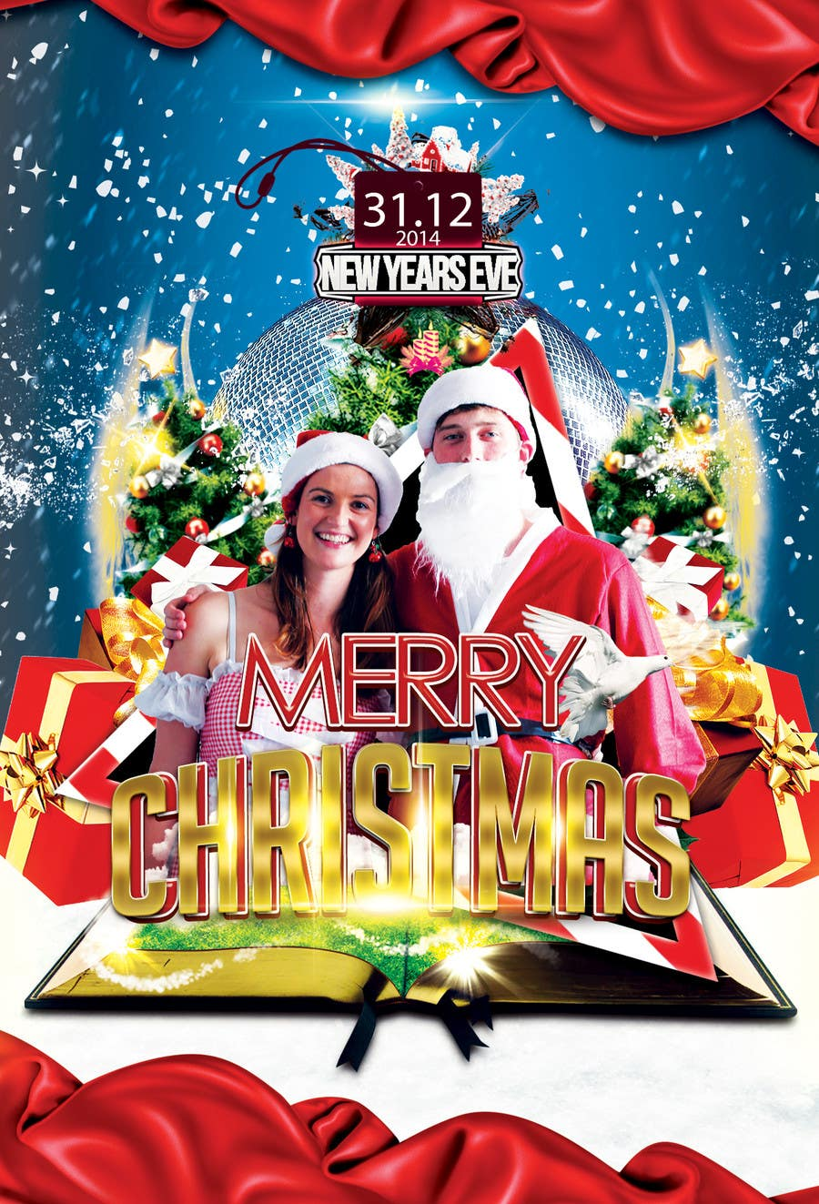 Inscrição nº                                         50                                      do Concurso para                                         Family Christmas Card - Have fun with it!