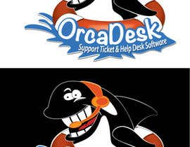 #27 for Logo Design is required for software company called OrcaDesk. (related to support ticketing systems) af 1279283555_d1350