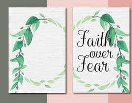 #68 for Faith Over Fear Book Cover by LaGogga