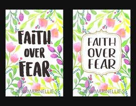 #83 for Faith Over Fear Book Cover by NELRANO