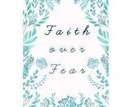 #86 for Faith Over Fear Book Cover by NamrathaT9