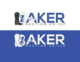 #58 para Logo Design - Baker Auction Co por Serinabagom