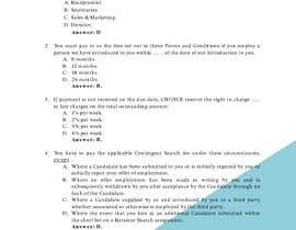 #11 for Create a Multiple Choice Test based on our Terms for our New Employees by suciindrati