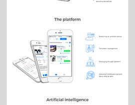 #39 for Design a Website Mockup for an app platform by VladBalusescu