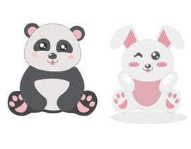 #22 untuk Panda/Bunny Illustration oleh manibalanrjm23