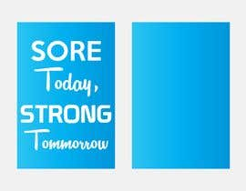 #18 for Sore Today, Strong Tomorrow Book Cover by Iwillnotdance