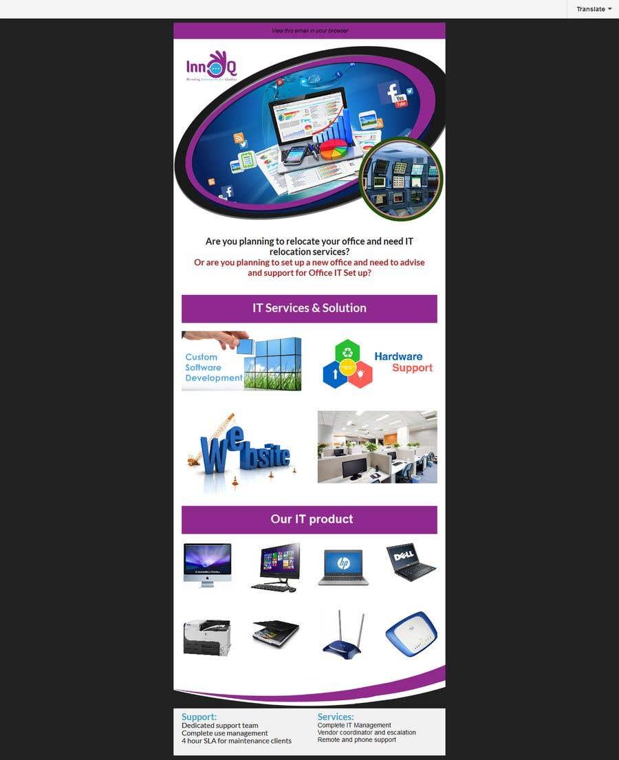 Entry 4 By Imrankhan911 For Design Mailchimp Templates Freelancer