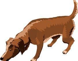 #1 cho Cartoon dog drawing - Vector bởi JYNXServices