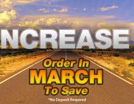 #31 for Website Banner - Price Rise Ahead. by RockingGraphics