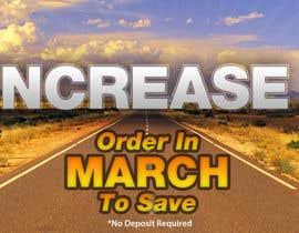 #31 untuk Website Banner - Price Rise Ahead. oleh RockingGraphics