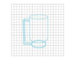 Nro 4 kilpailuun External Design for Smart, Self Heating, Floating Mug for a Company named Zesteno käyttäjältä MartinReds