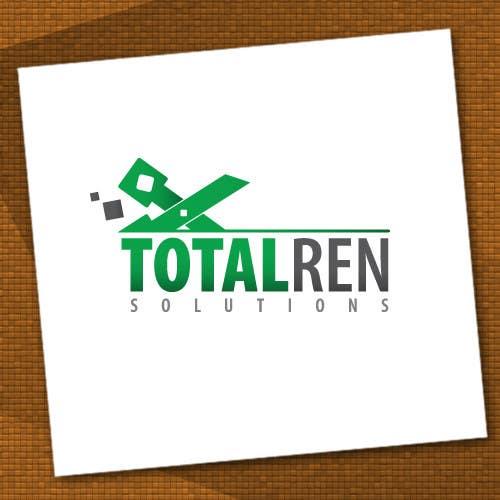 Kilpailutyö #100 kilpailussa Logo Design for TotalRen Solutions